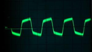 Entwicklung im Hochstrom mit hoher Frequenz