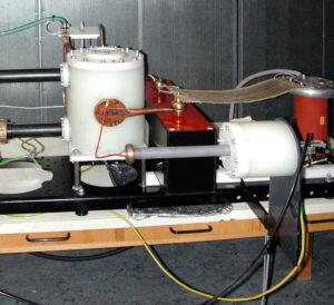 Entwicklung in der Hochspannung - Eignungstest Kondensatoren - Versuchsaufbau