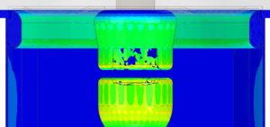 Entwicklung in der Hochspannung -Simulation der innovativen Funkenstrecke