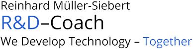 Reinhard Müller-Siebert - R&D-Coach