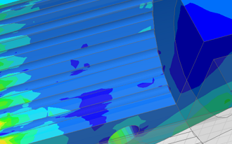 Simulation Triplepunkt in der Hochspannung