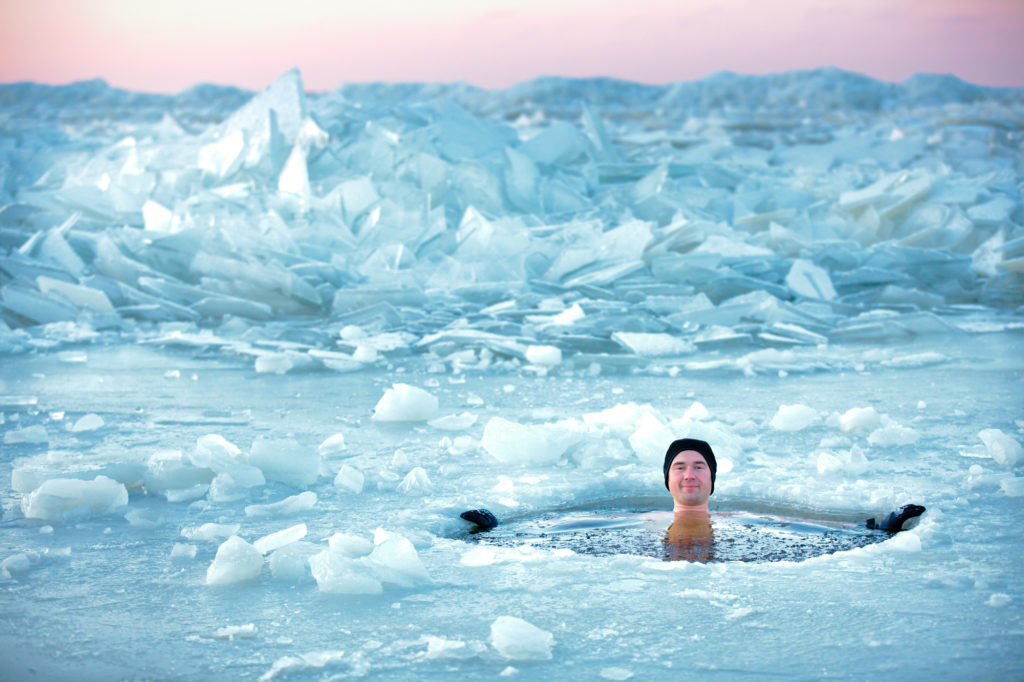 R&D-Coach - Courage 2020 - Man in an ice-hole